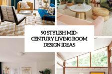 90 stylish mid-century living room design ideas cover
