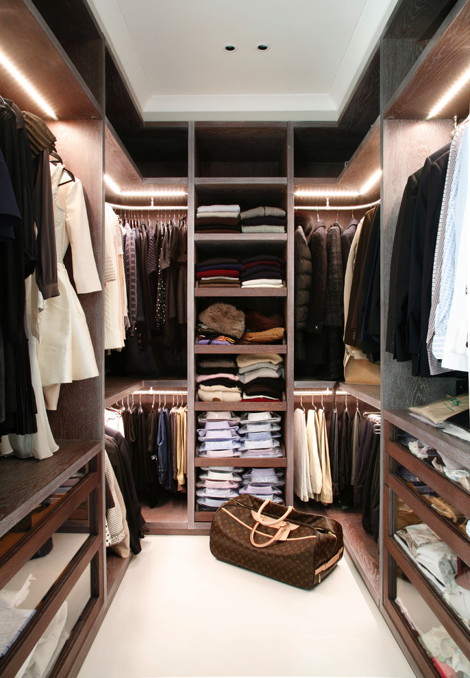 100 stylish and exciting walk in closet design ideas for Modelos de walk in closet