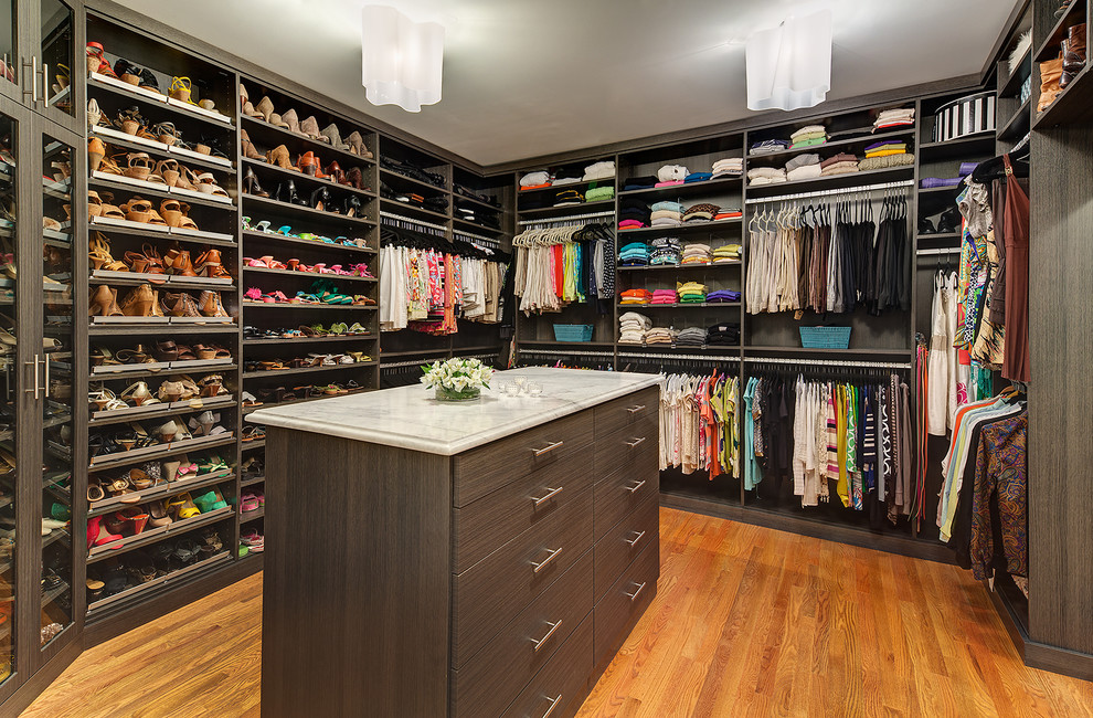 stylish and exciting walk in closet design ideas