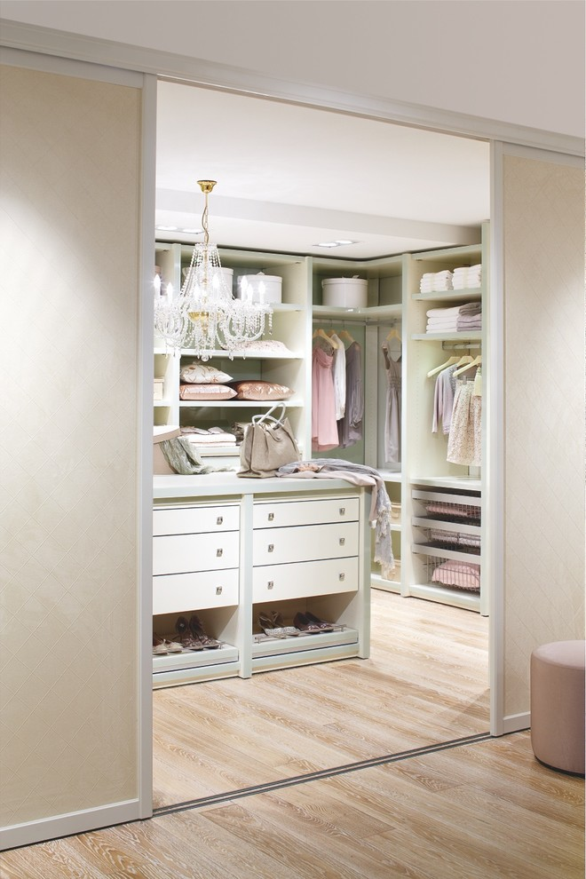 Sliding Doors Is A Perfect Way To Hide A Walk In Closet.
