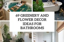 69 greenery and flower decor ideas for bathrooms cover