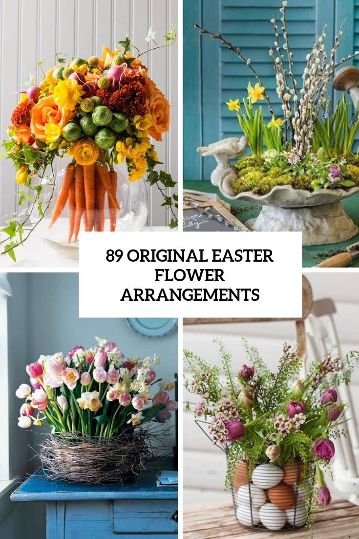 89 Original Easter Flower Arrangements