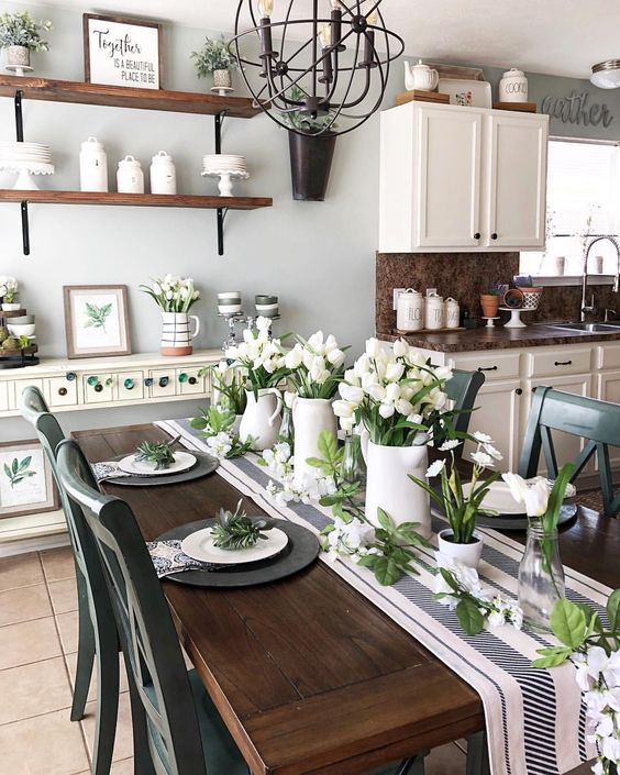 96 Stylish And Inspiring Spring Table Decoration Ideas Digsdigs