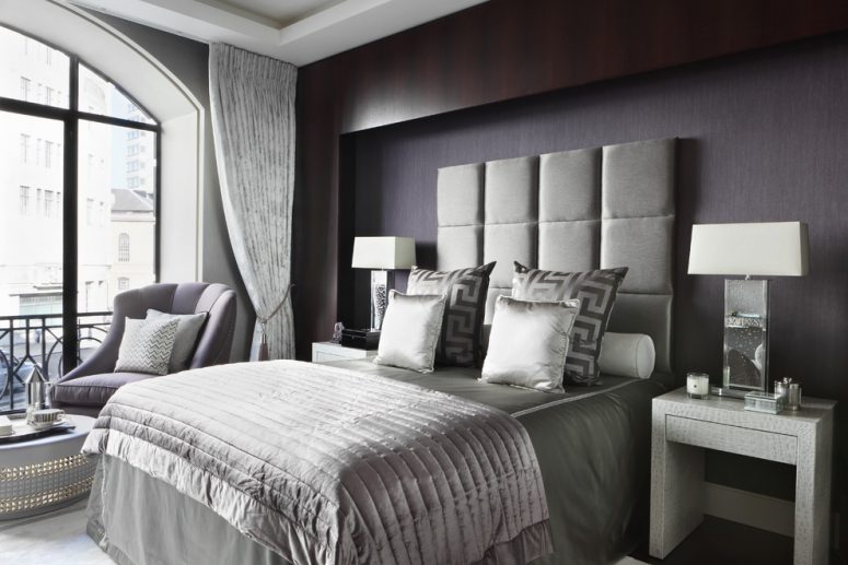 great bedroom ideas. boutique hotel feel might work great in a masculine interior 70 Stylish and Sexy Masculine Bedroom Design Ideas  DigsDigs
