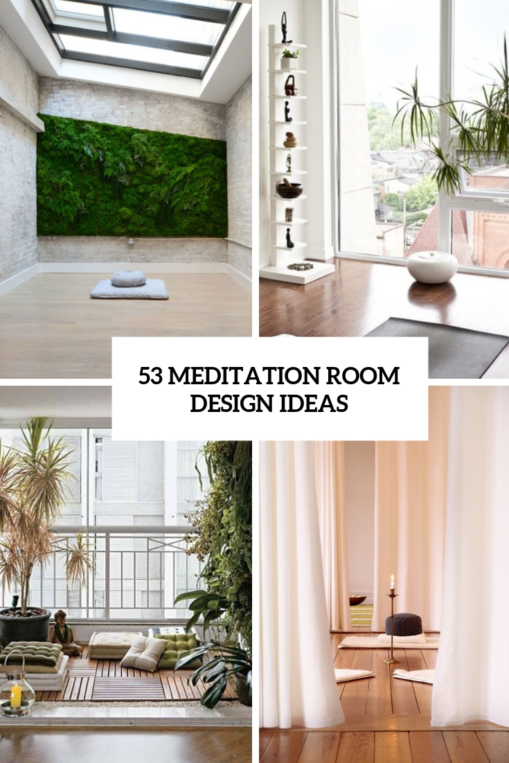 53 Meditation Room Decor Ideas