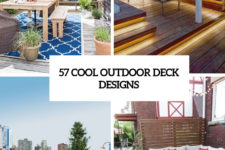 57 cool outdoor deck designs cover