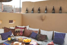 55 charming morocco style patio designs