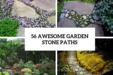 56 awesome garden stone paths cover