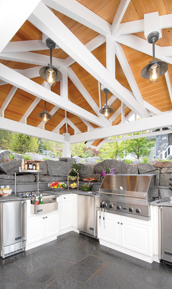 95 Cool Outdoor Kitchen Designs - DigsDigs