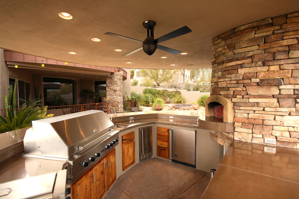 95 cool outdoor kitchen designs digsdigs for Building outside design