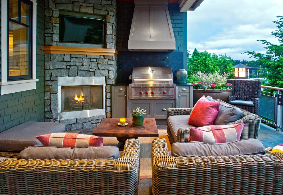 A proper ventilation could make your outdoor room much comfy to use when somebody