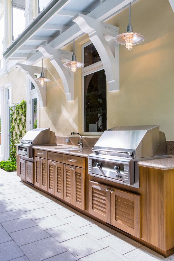 95 cool outdoor kitchen designs digsdigs for Key west style kitchen designs