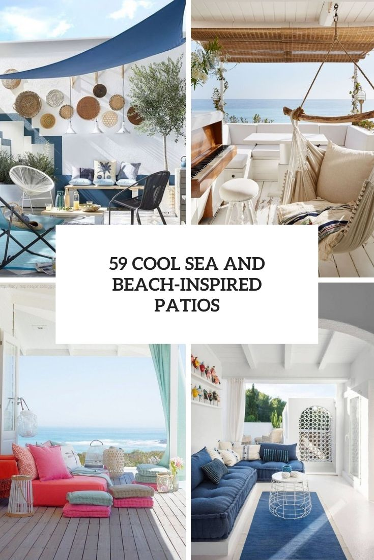 cool sea and beach inspired patios cover
