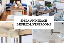 59 sea and beach inspired living rooms cover