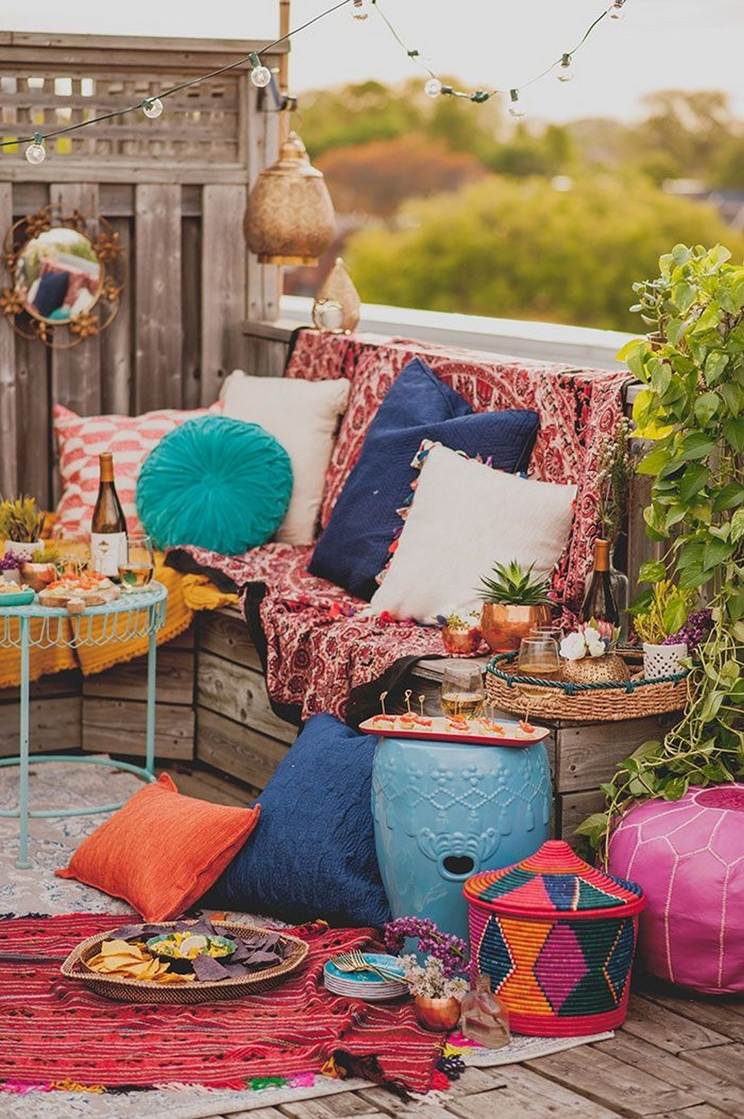 75 Charming Morocco-Style Patio Designs