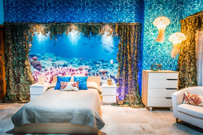 49 beautiful beach and sea themed bedroom designs digsdigs for Beautiful bedroom designs hd