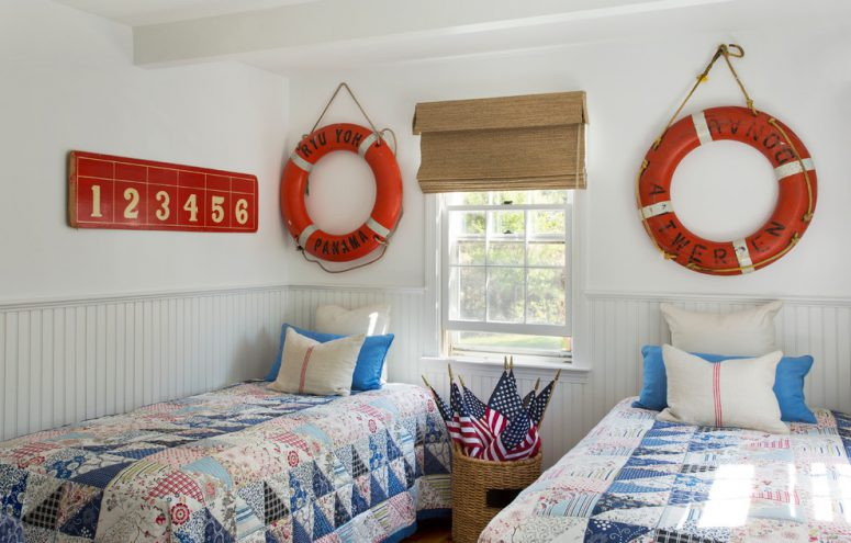 life-buoys could become a great wall decor
