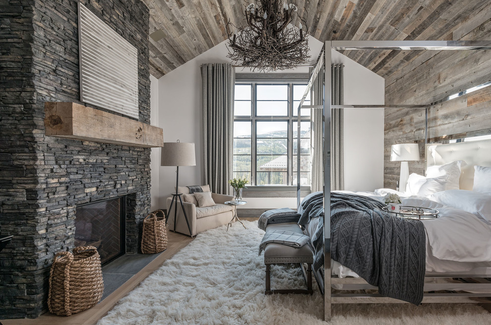 Nice cozy rustic bedroom design ideas