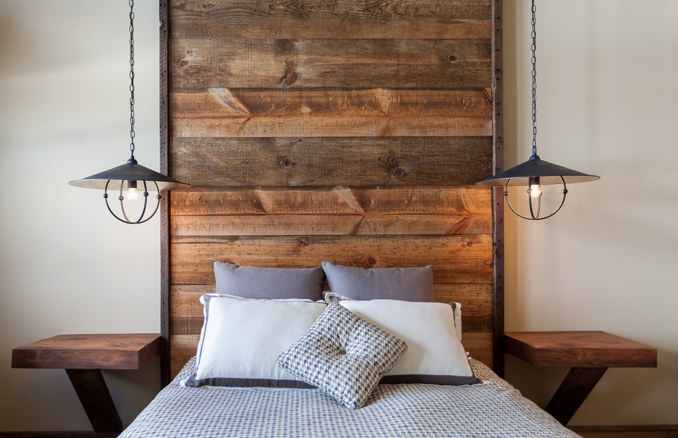 Popular cozy rustic bedroom design ideas