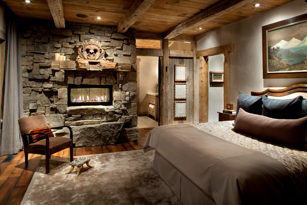 Vintage cozy rustic bedroom design ideas