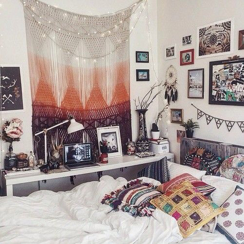 terrific cute bohemian bedroom ideas | 65 Refined Boho Chic Bedroom Designs - DigsDigs
