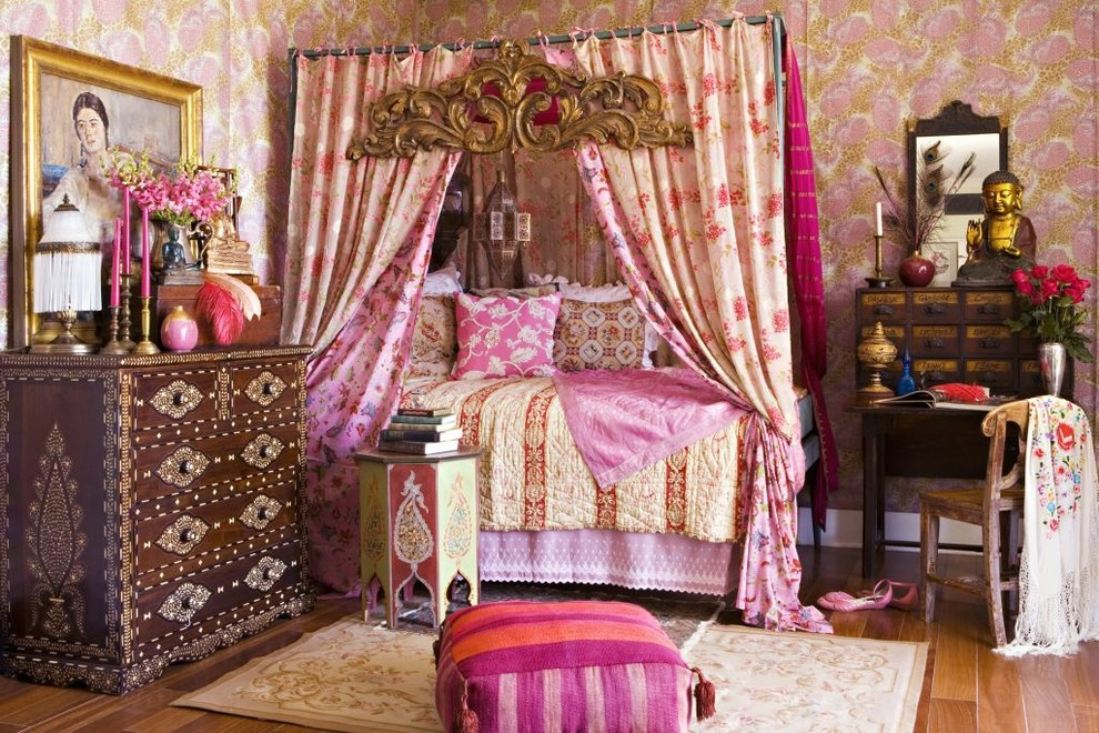 Charming There Is No U0027wrongu0027 Color When Youu0027re Decorating In Bohemian Style.