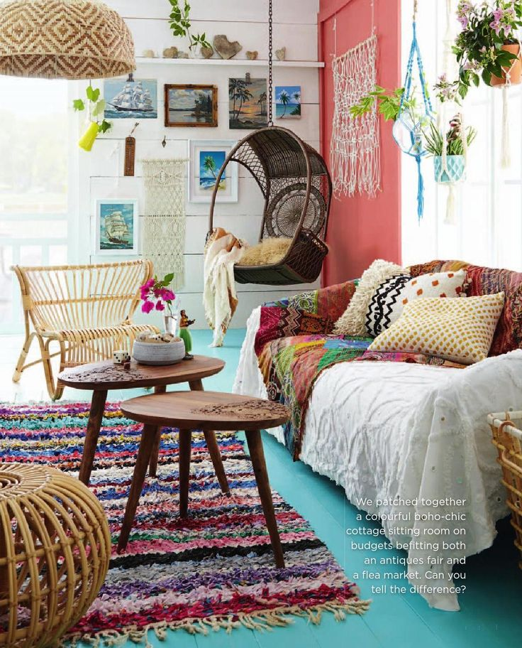 inspiring bohemian living room designs - Bohemian Design Ideas