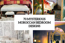 70 mysterious moroccan bedroom designs cover
