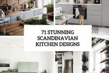 71 stunning scandinavian kitchen designs cover