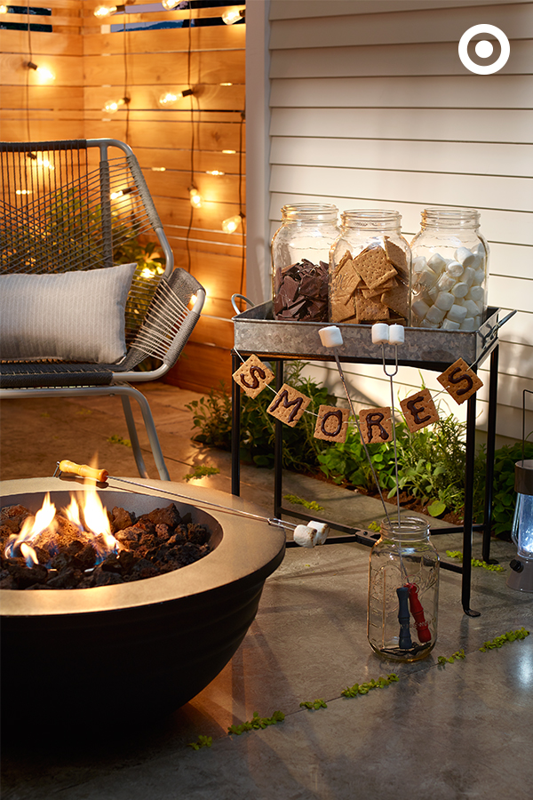 Cozy Fall Patio Decorating Ideas · Su0027mores Bar Is A Perfect Recipe For Fall  Entertaining.