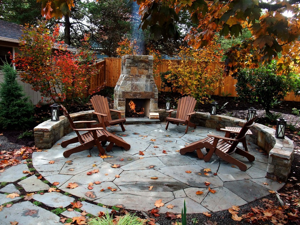 55 cozy fall patio decorating ideas digsdigs for Outer decoration of house