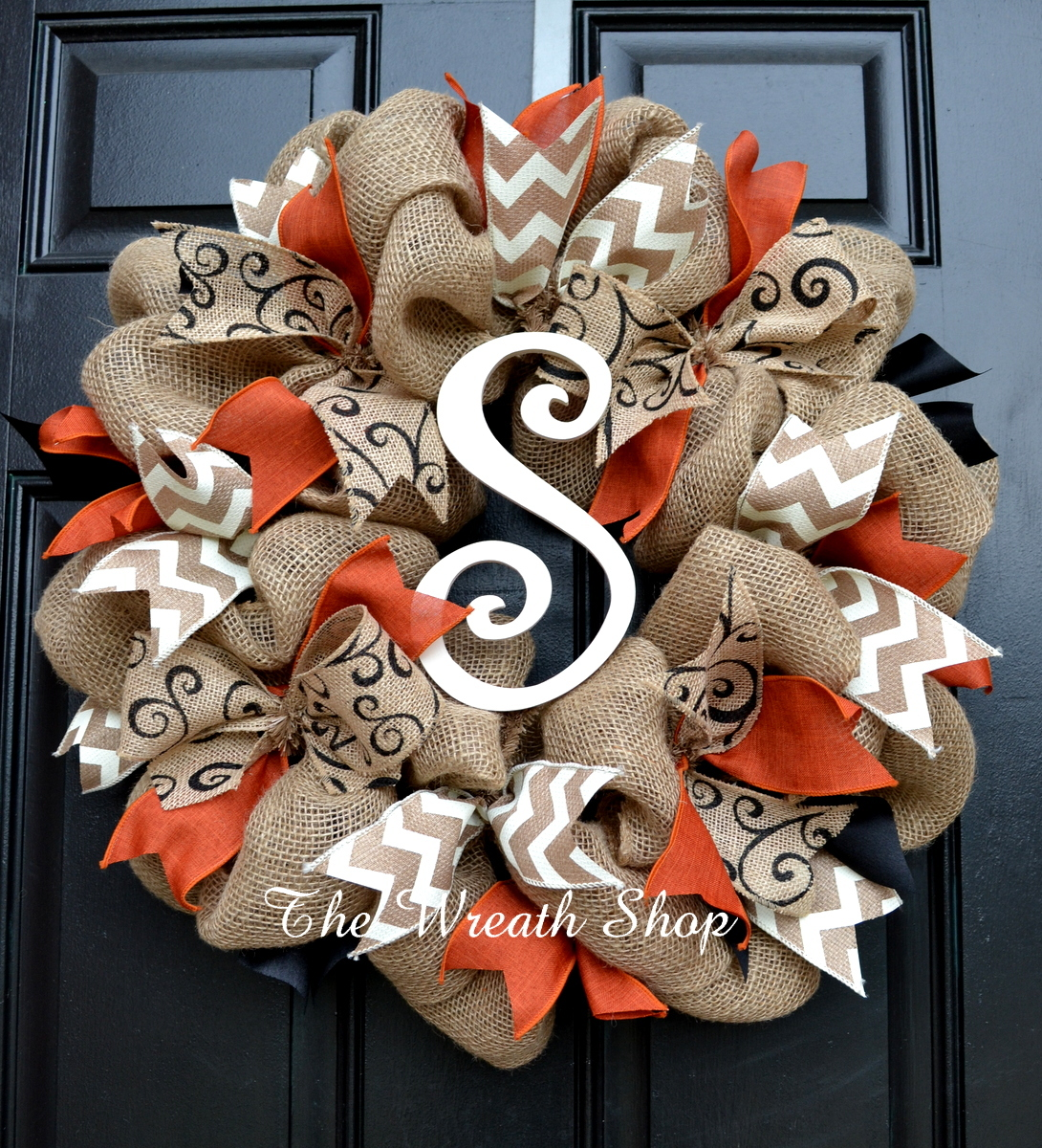 Burlap is one of fall's most versatile supplies, and it adds rustic appeal to DIY project. Perfect for wreaths!