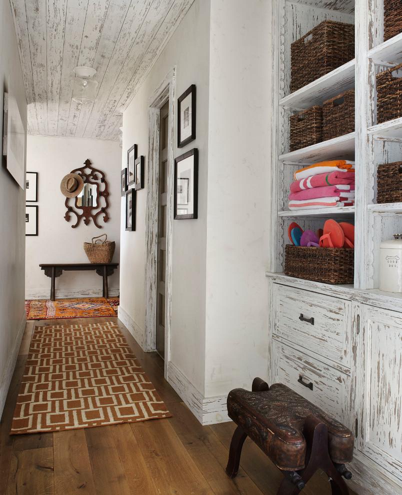 Great Room Addition Ideas: 75 Clever Hallway Storage Ideas