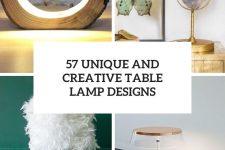 57 unique and creative table lamp designs cover