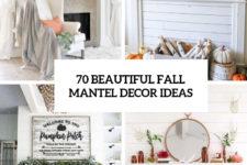 70 beautiful fall mantel decor ideas cover