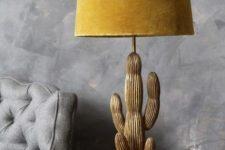 a cactus lamp design