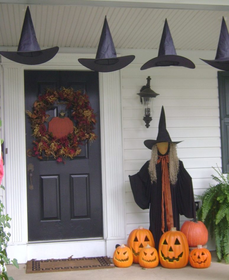 awesome outdoor halloween party ideas let witches occupy your porch