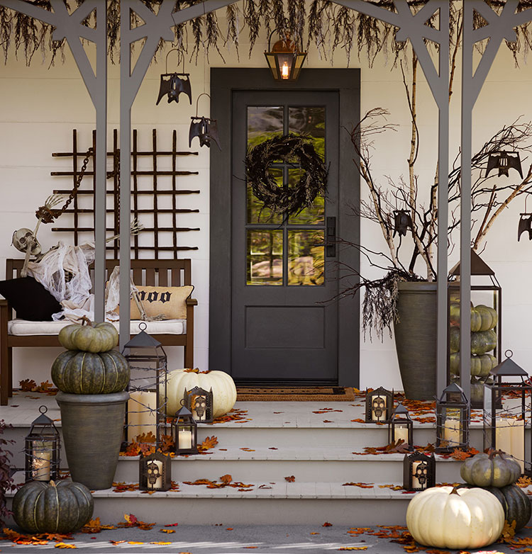 awesome outdoor halloween party ideas - How To Decorate For Halloween Outside