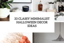 33 classy minimalist halloween decor ideas cover