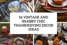 56 vintage and shabby chic thanksgiving decor ideas cover