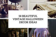 58 beautiful vintage halloween decor ideas cover