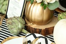 modern thanksgiving table design