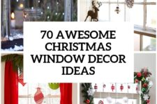55 awesome christmas window decor ideas