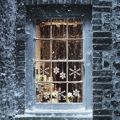 Christmas Window.70 Awesome Christmas Window Decor Ideas Digsdigs