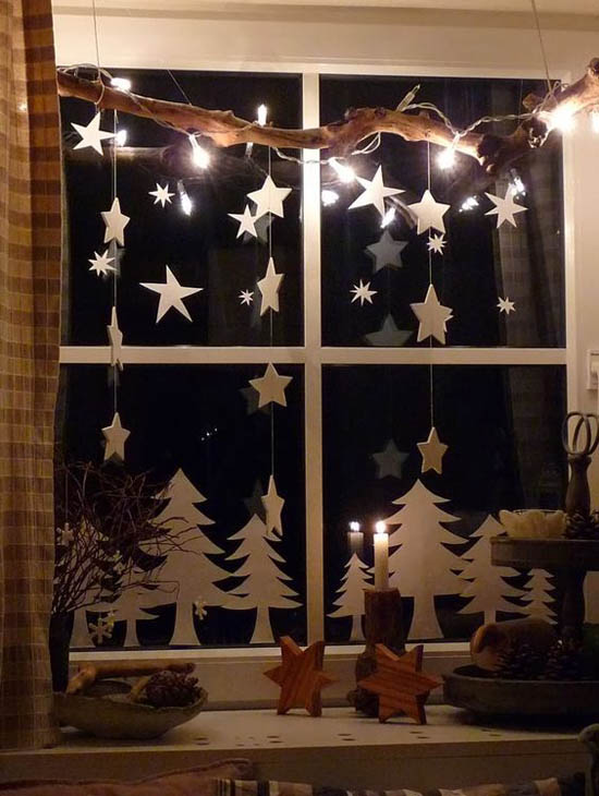 70 awesome christmas window d cor ideas digsdigs