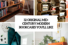 32 original mid-century modern bookcases you'll like cover