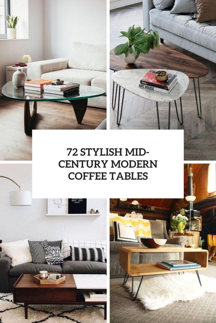 72 Stylish Mid-Century Modern Coffee Tables