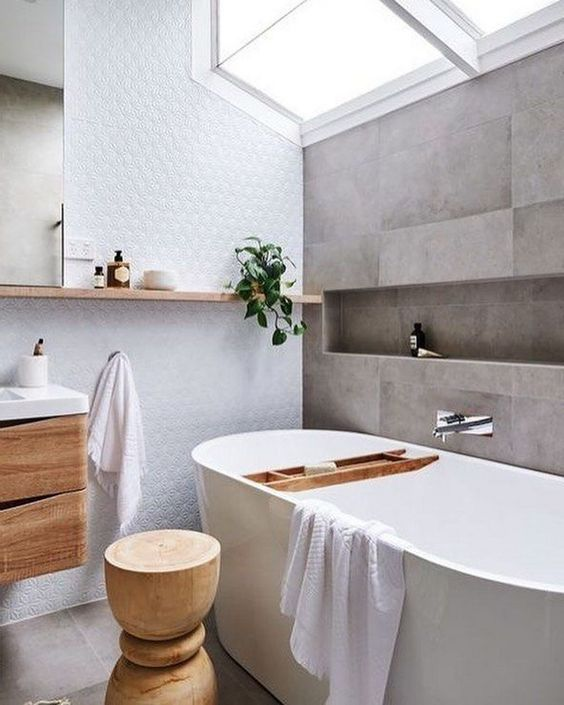 67 Relaxing Scandinavian Bathroom Designs Digsdigs