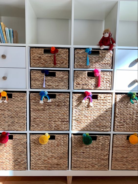 a cool pompom ikea hack for a kids room