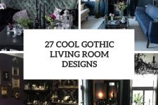 27 cool gothic living room designs cover